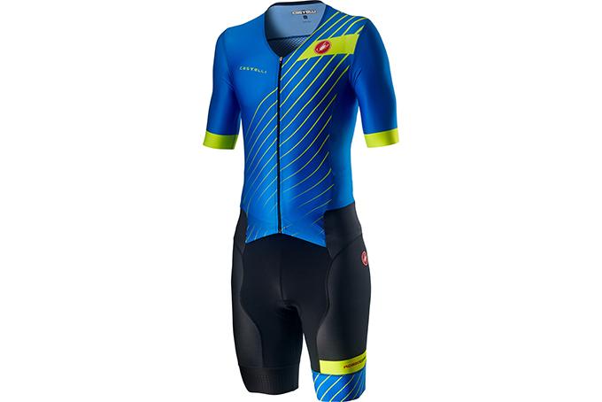 Castelli Sanremo2Suit ShortSleeveブルー