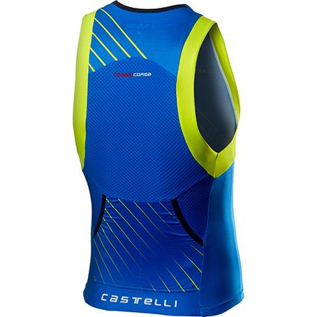 Castelli Free Tri Top ブルー