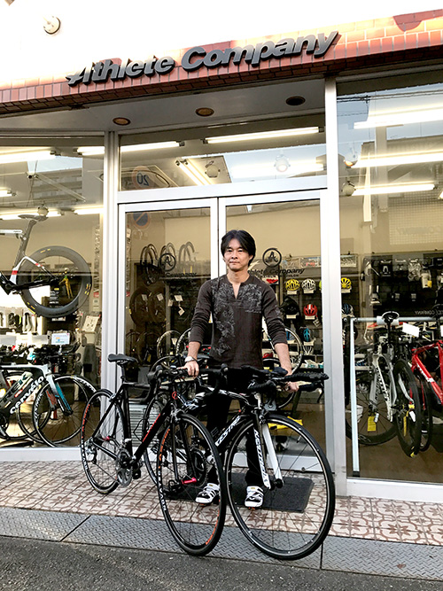 Athletecompany ALUMI Di2 オーナー様