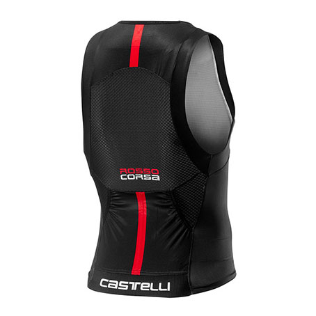 Castelli Free Tri Top ブラック <カステリフリートライトップ>