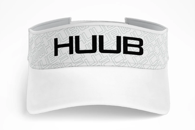 HUUB Run Visor ホワイト